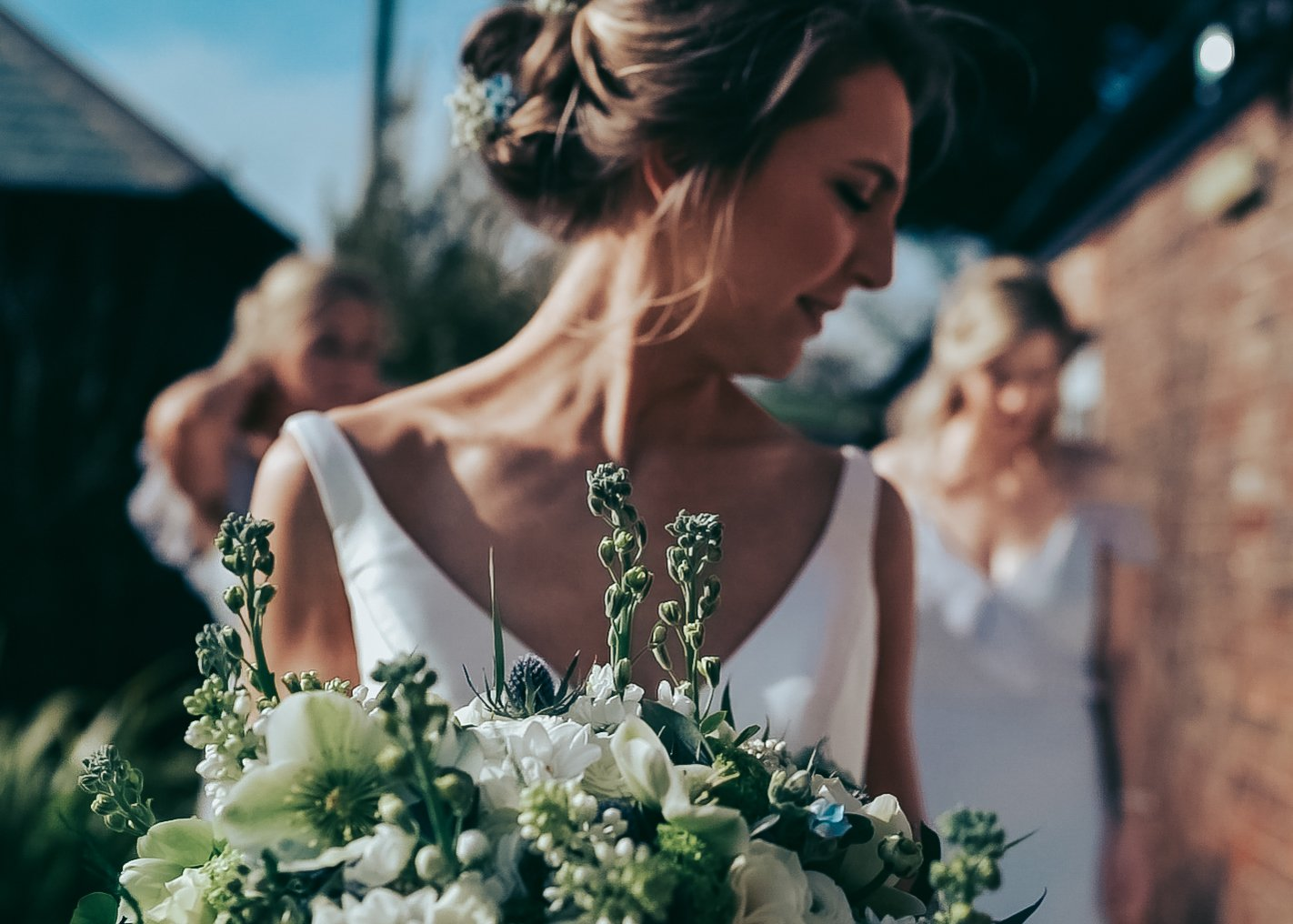 beautiful bridal bouquet Lady Lissy Florist Farbridge Sussex wedding photographer